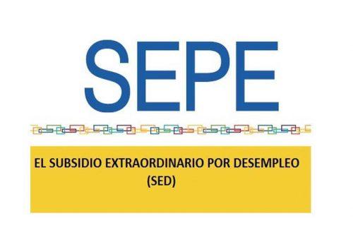 Nuevo subsidio Extraordinario por desempleo