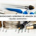 Subvenciones Gobierno Aragon - Ayudas autónomos
