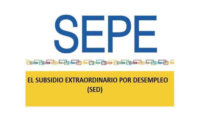 Resultado de imagen de Subsidio Extraordinario de Desempleo (SED)